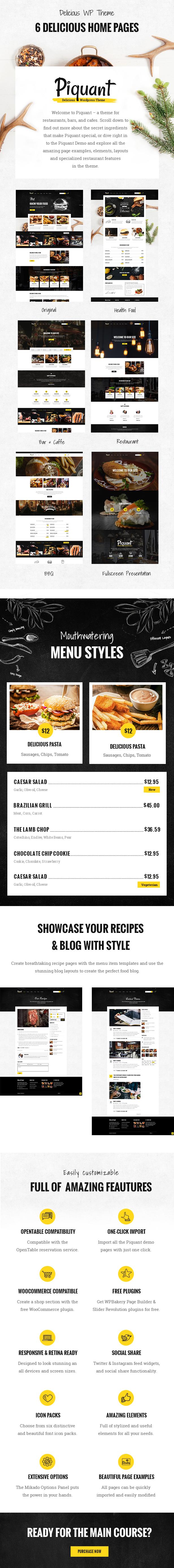 Piquant - Restaurant, Bar & Café Theme - 1 Piquant - Restaurant, Bar & Café Theme Nulled Free Download Piquant – Restaurant, Bar & Café Theme Nulled Free Download 01a